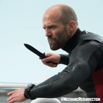 HARD TO BEAT: Jason Statham as assassin Arthur Bishop in Mechanic: Resurrection, now showing at Rosehill Cinema