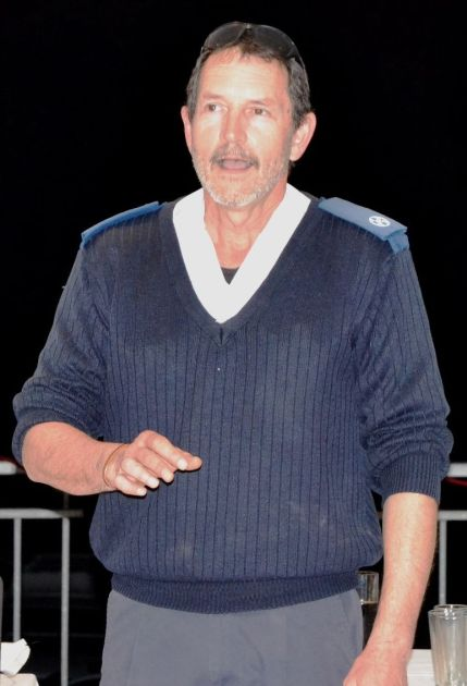 CLEARING MISCONCEPTIONS:  Ndlambe SPCA kennel manager Forbes Coutts addresses the organisation's AGM last Thursday evening Picture: ROB KNOWLES
