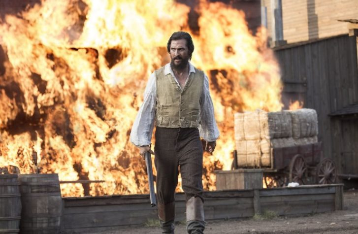 BURNING PASSION: Matthew McConaughey stars as Newton Knight in the American civil war story, 'Free State of Jones', showing at Rosehill Cinema