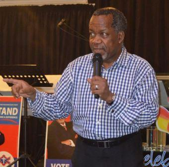 HIGHER CALLING: ACDP president Kenneth Meshoe spoke in Port Alfred last week Picture: JON HOUZET