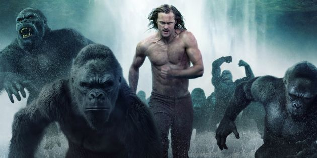 MONKEYING AROUND: Tarzan (Alexander Skarsgard) returns to his roots in 'The Legend of Tarzan', now showing at Rosehill Cinema